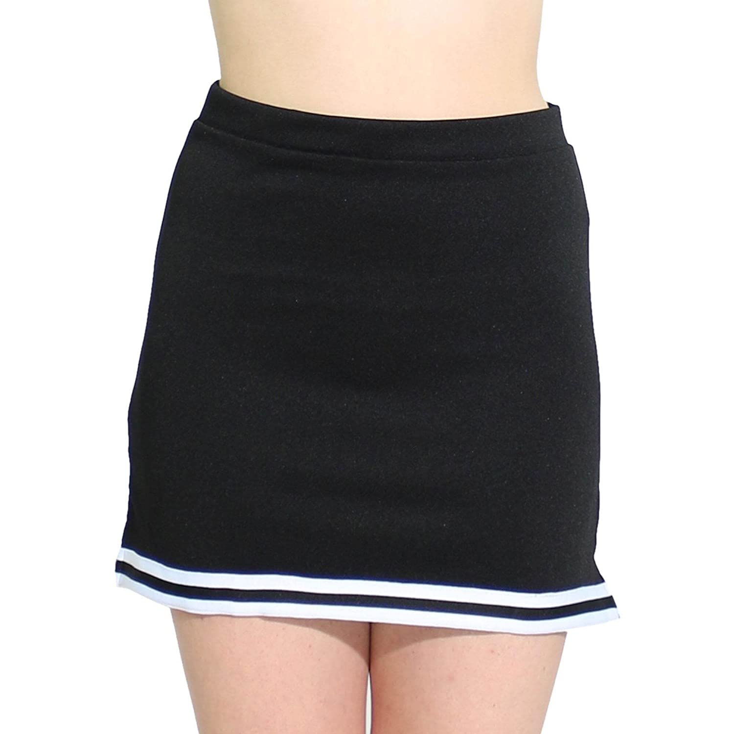 f7dff462bb 100% Polyester 1.2 inch braid, A-line, covered elastic waistband. Classic  skirt with slit on side seams. Durable, easy to care for material, ...