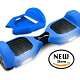 Full-Body Silicone Jelly Case Cover for Smart Two Wheels Self Balancing Electric Scooters - Balance Board Protector Accessories for 6.5 Inch Hover Board