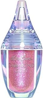 product image for Lime Crime Diamond Dew Liquid Eyeshadow, Paris - Malibu Pink Glitter Lid Topper - Lightweight Formula for Eyelids, Cheeks & Body - Won't Smudge or Crease - Vegan - 0.14 fl oz