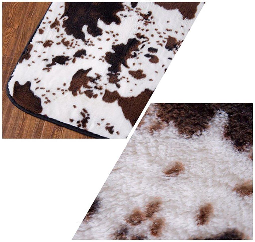 Couleur Black Leopard Lines Taille 140 200cm Tapis De