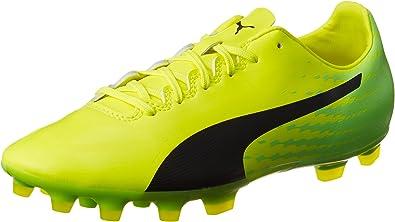PUMA Men's Evospeed 17.2 Ag Football Boots, Neongelb/Lime