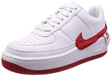 meet 8dd2d 1c501 Nike Women's WMNS AF1 Jester XX, White/University RED