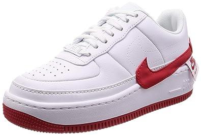 meet 90b90 ba85d Nike Women's WMNS AF1 Jester XX, White/University RED