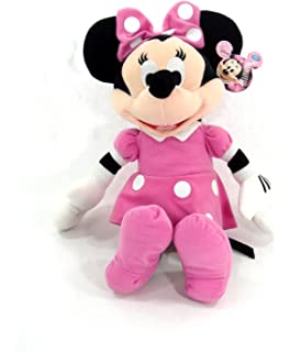 Amazoncom Disney 8 Minnie Mouse in Pink Dress Plush Toys  Games