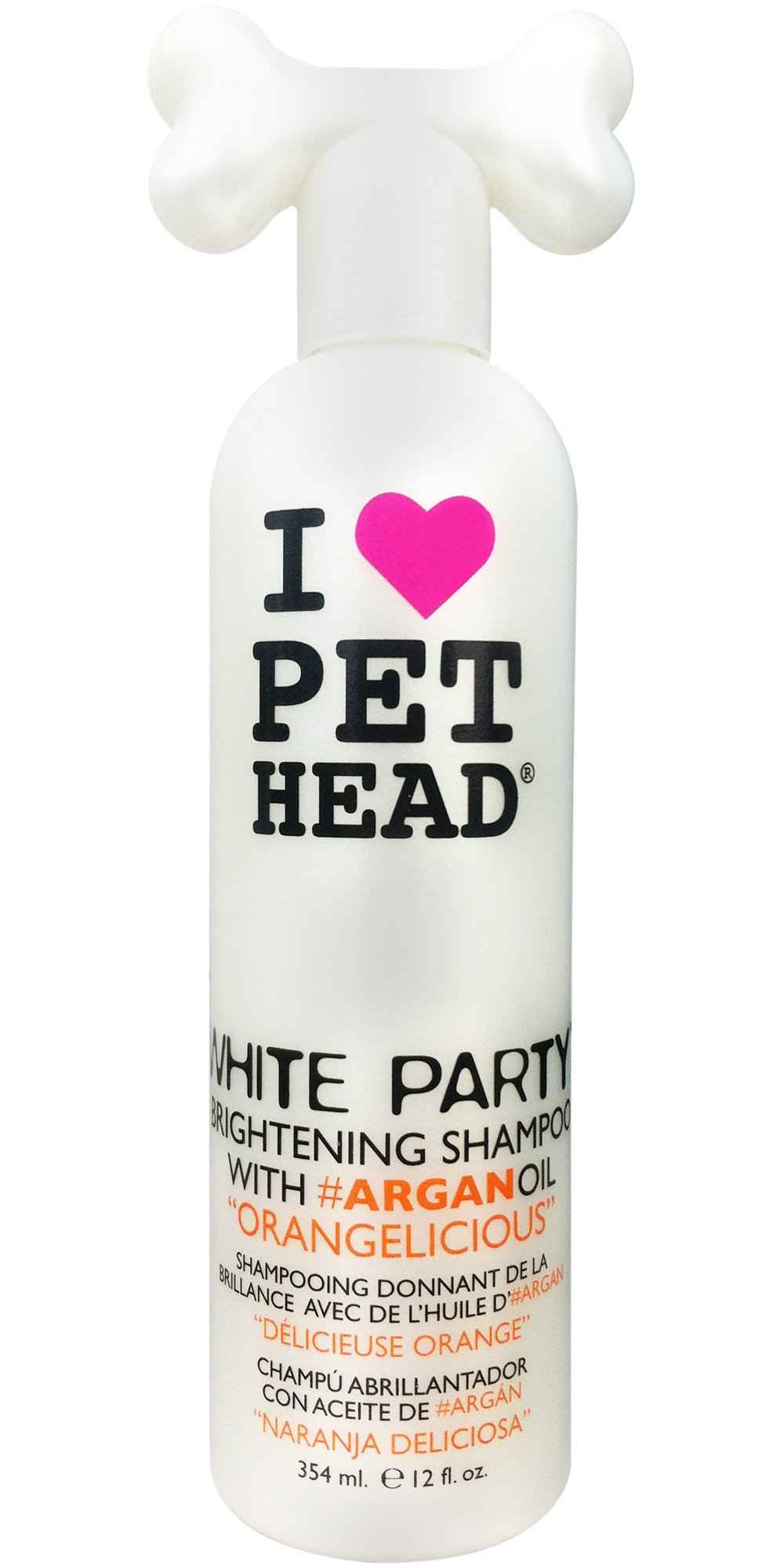 Pet Head White Party Brightening Shampoo, 12oz