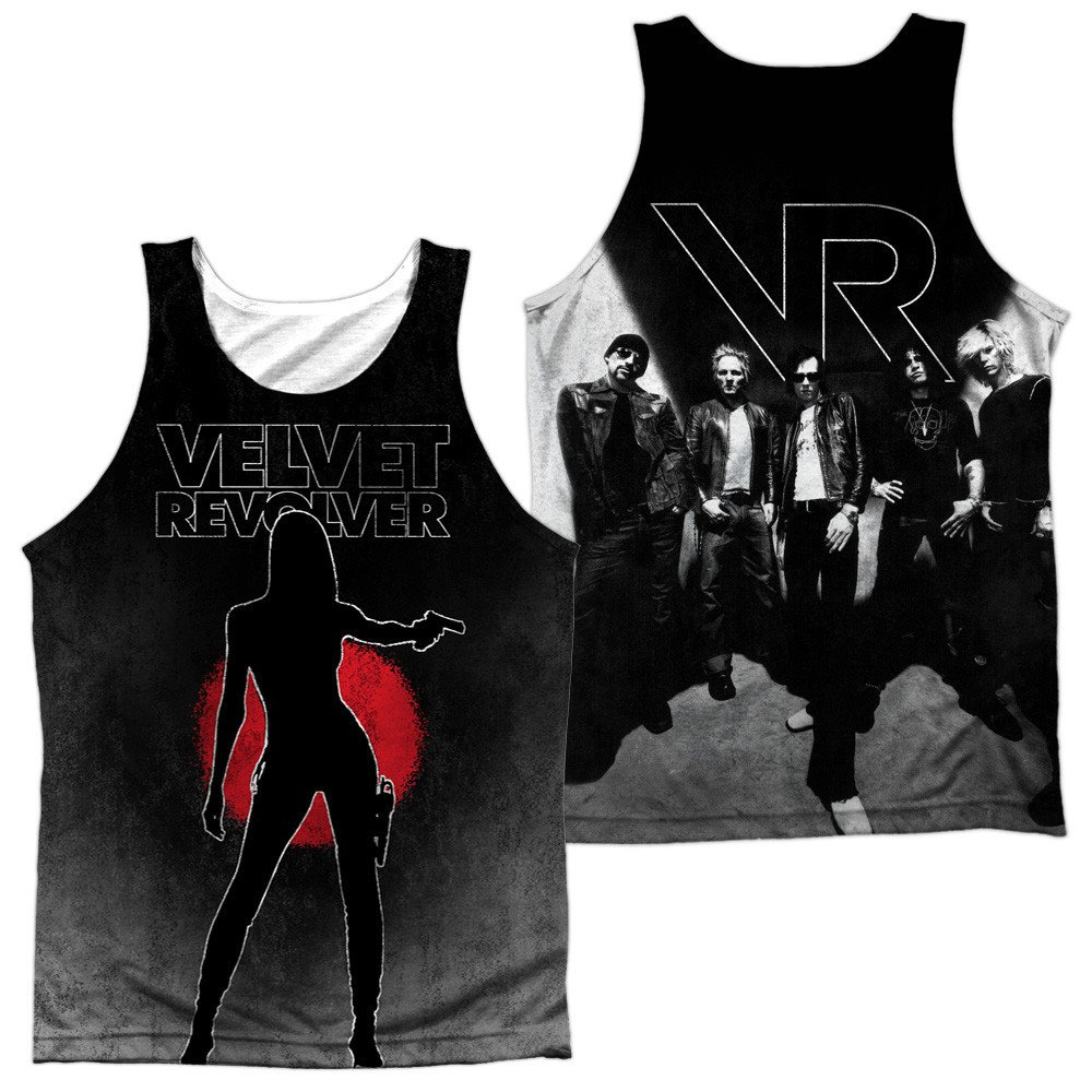 Velvet Revolver Contraband Sub Adult Tank Top