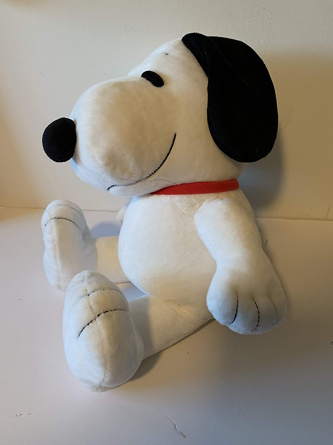 snoopy Weighted stuffed animal 4 lbs sensory toy washable dog