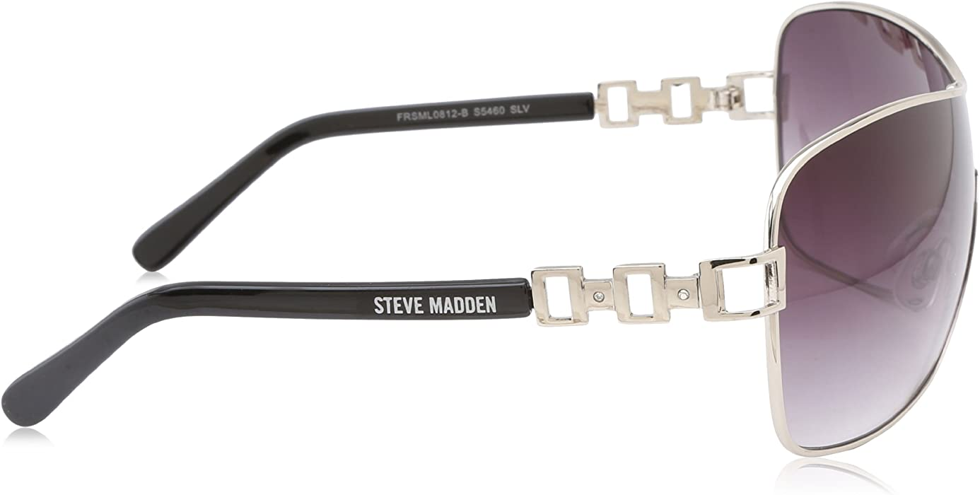9497152698 Amazon.com  Steve Madden Women s S5460 Shield Sunglasses