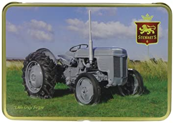 Amazon com : Stewart's Little Grey Fergie Tractor Tin with