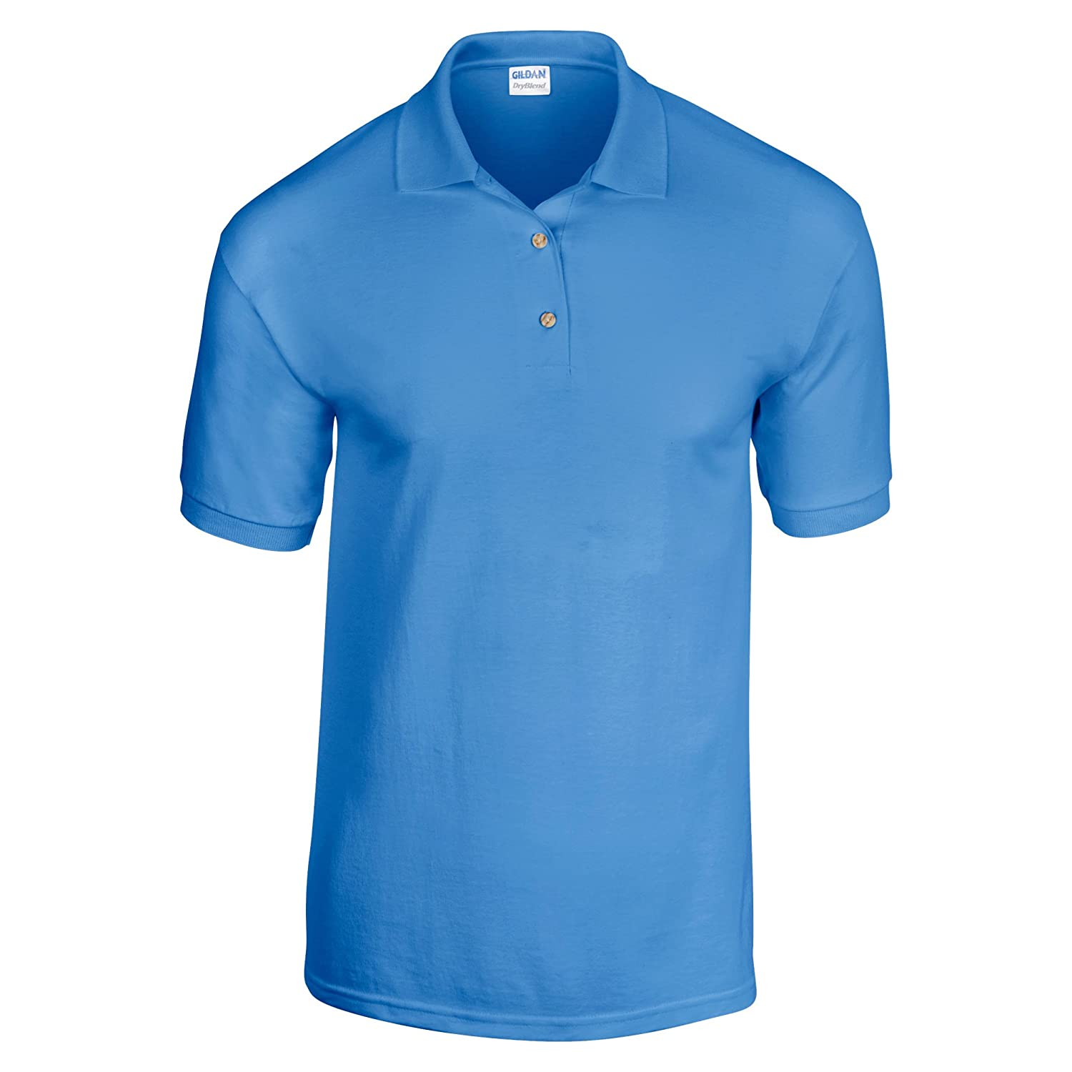 8f68abd8a Gildan Adult DryBlend Jersey Short Sleeve Polo Shirt at Amazon Men's  Clothing store: Purple Shirt