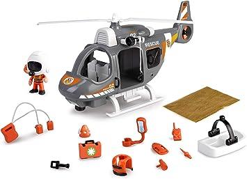 Pinypon Action - Helicóptero de Rescate con 1 Figura con ...
