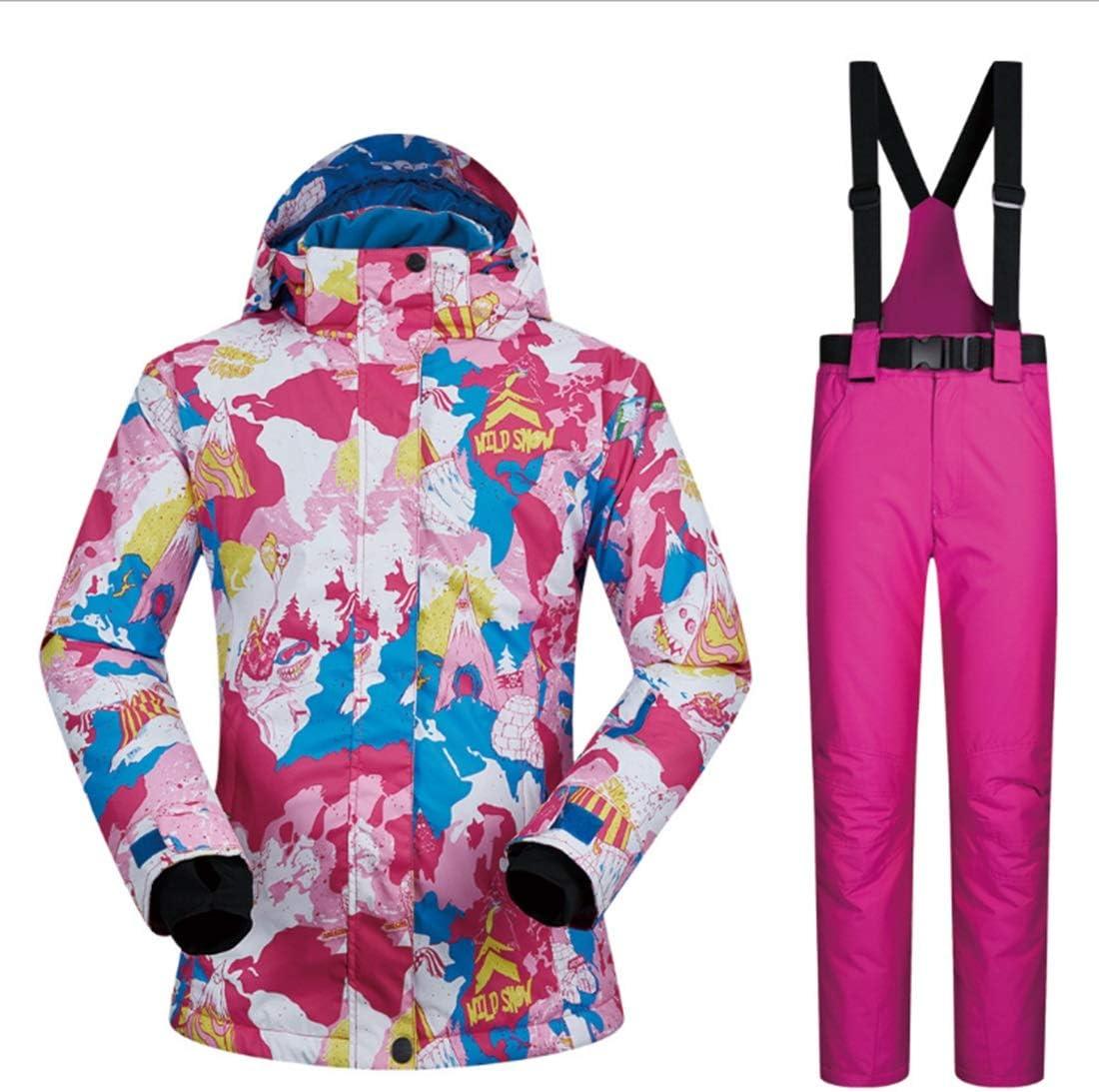 YXDIANZI 女性のジャケット冬の女の子コート屋外スポーツドレススキージャケットの下ゼロコート(S-XL) (色 : 05, サイズ : XL)  X-Large
