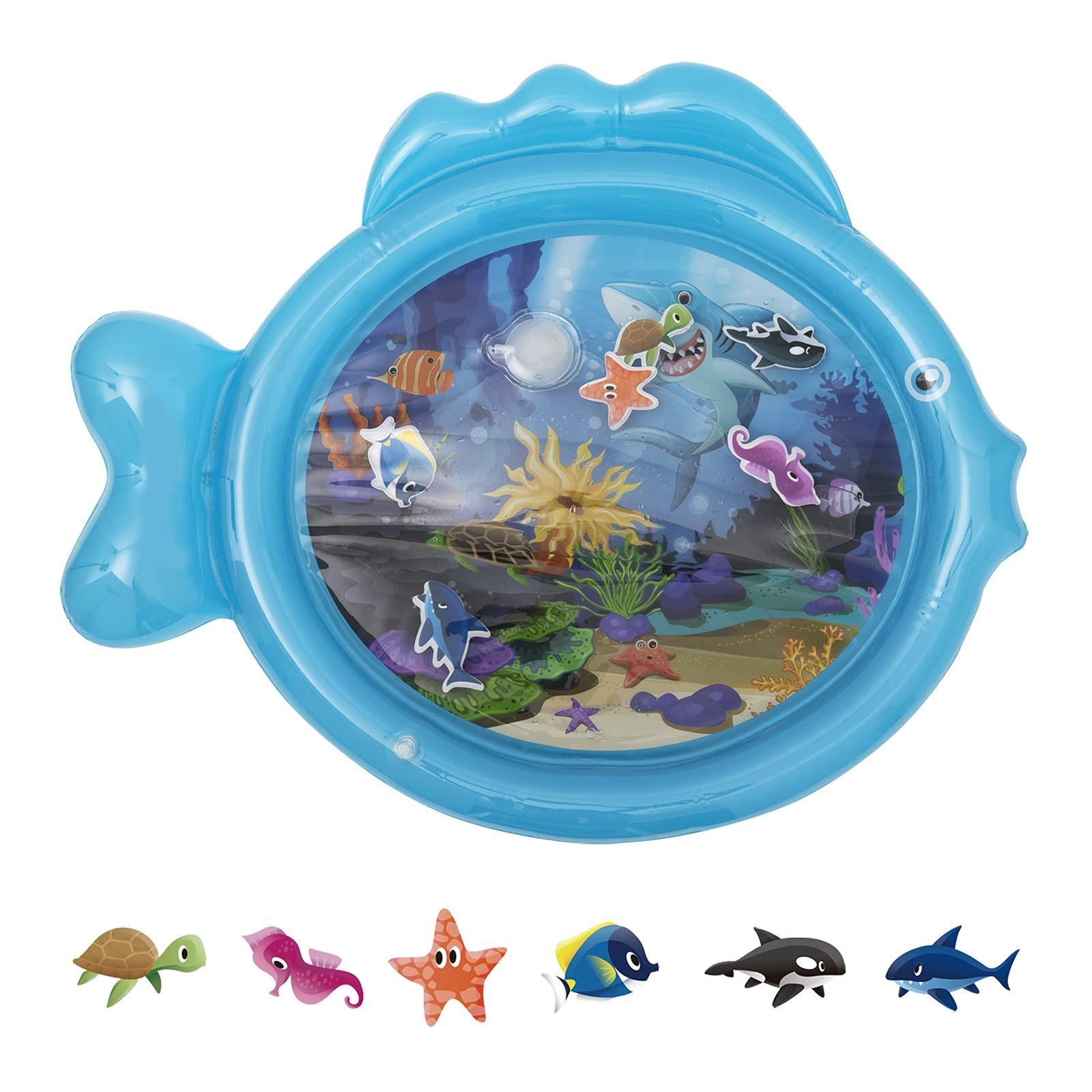 Baby Water Mat Inflatable Baby Water Play Mat Sensory Water Playmat Play
