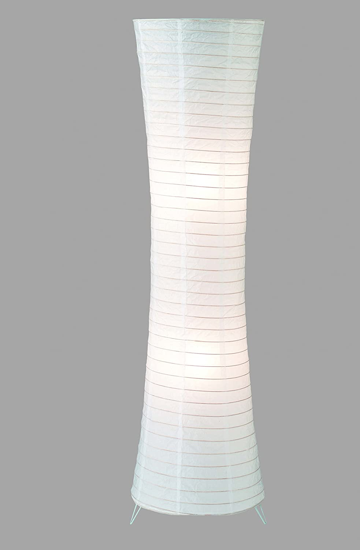 Trio 4096021-00 Standleuchte, Papier, E27, weiß: Amazon.de: Beleuchtung
