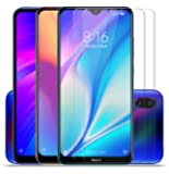 SupCares Premium Tempered Glass for Mi Redmi 8A Dual / Mi Redmi 8A / Mi Redmi 7 / Mi Redmi Y3 / Mi Redmi Note 7 / Mi Redmi Note 7 Pro / Mi Redmi Note 7S with Easy Installation Kit (Transparent) - Pack of 2