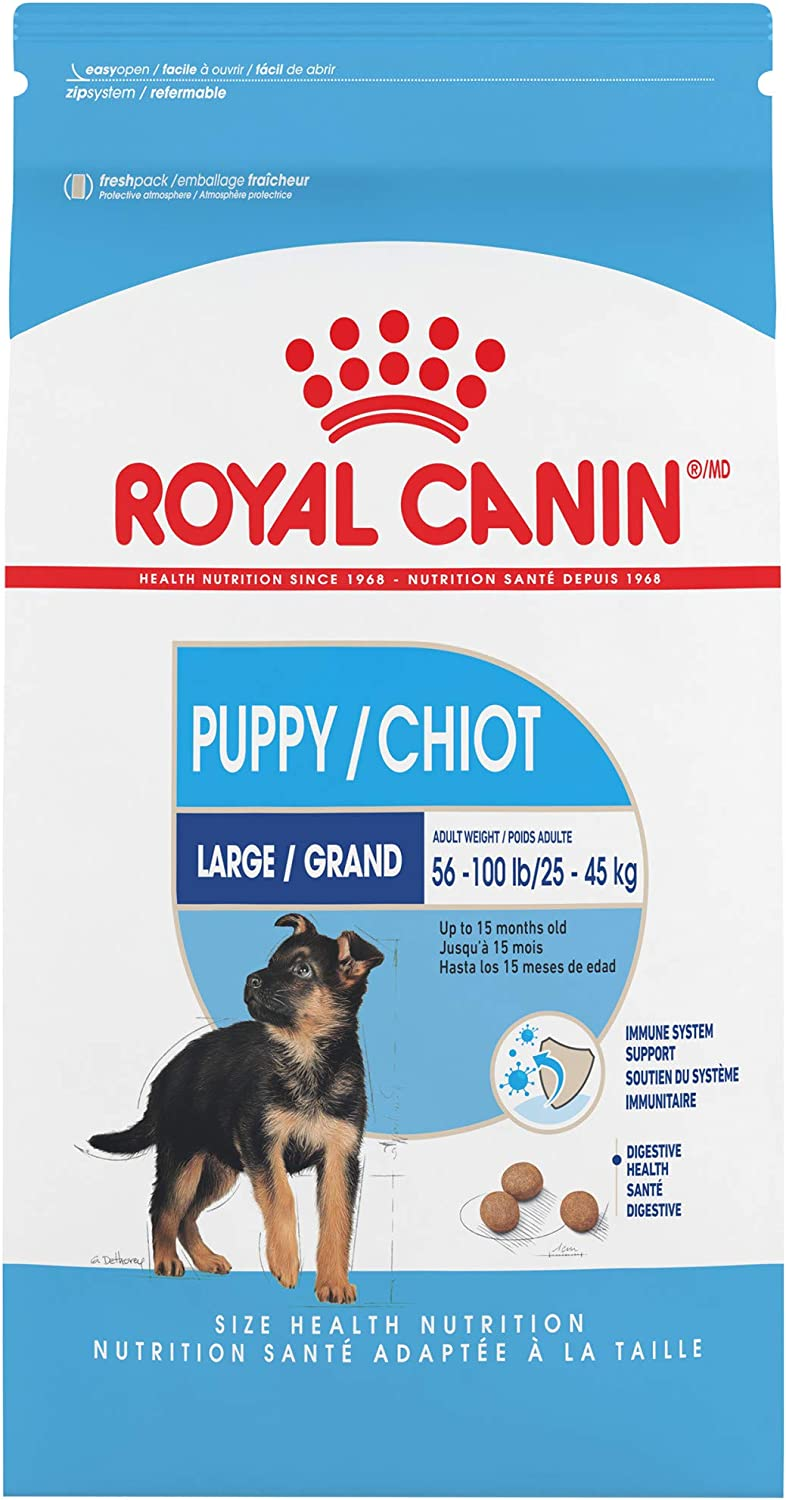 Royal Canin Large Puppy Dry Dog Food, 18 Lb.