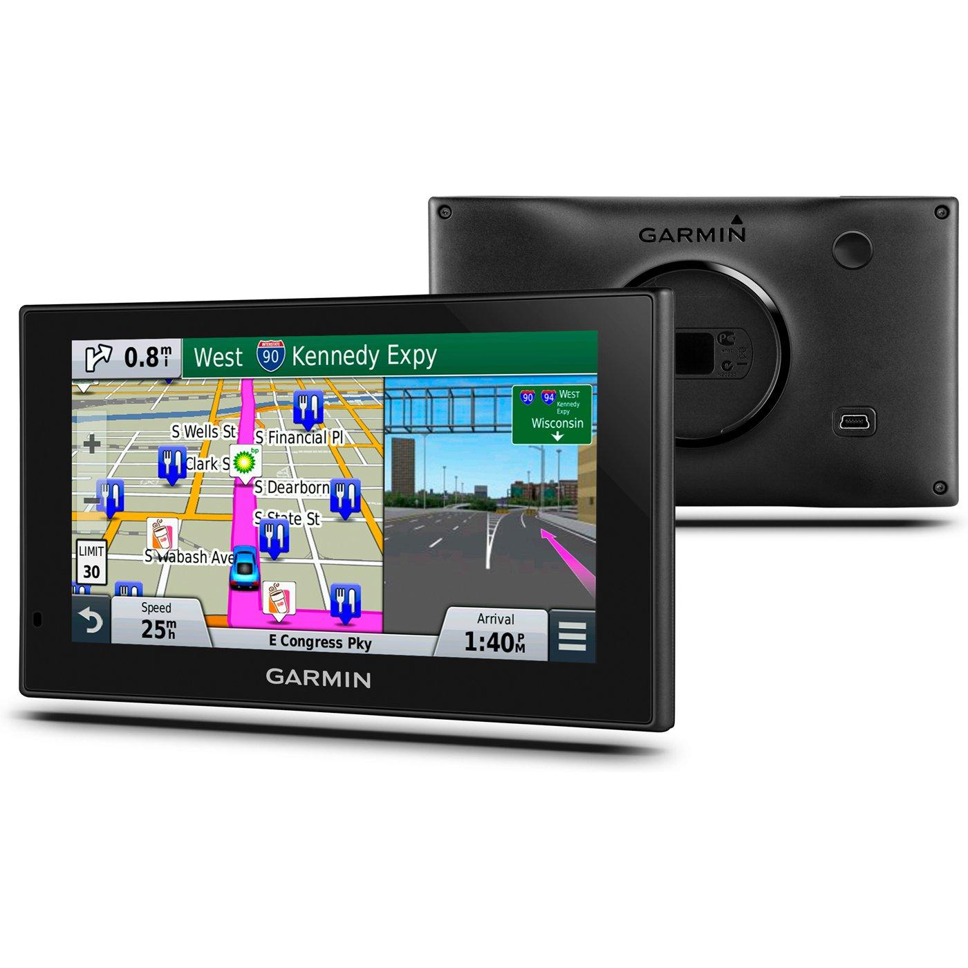 Garmin nuvi 2699LMT HD 6'' GPS Lifetime Maps & HD Traffic (Certified Refurbished)
