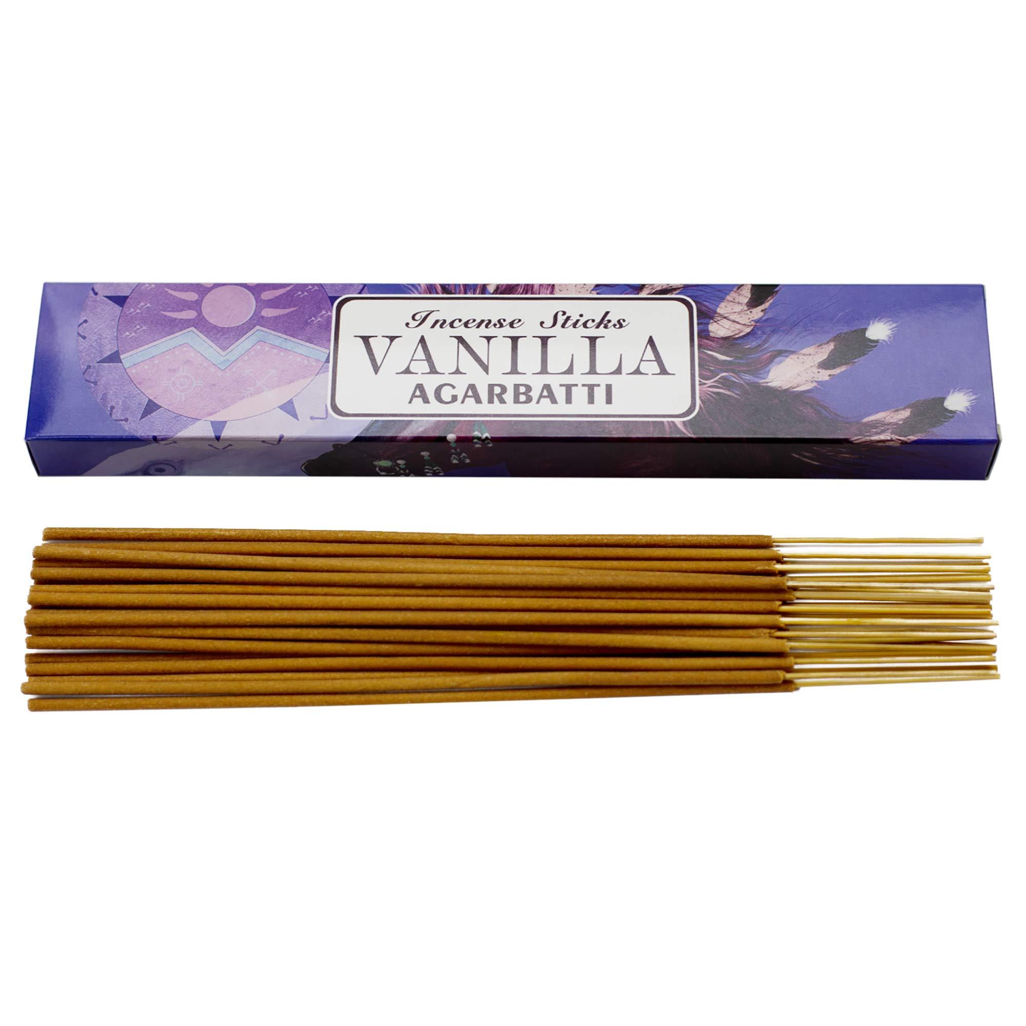 Mosfantal Premium Hand Dipped Incense Sticks - Lemon, Jasmine, Lavender, Vanilla, Apple, Variety Gift Pack (240Gram) by Mosfantal (Image #5)