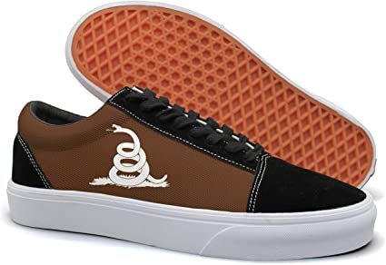 VCERTHDF Dont Tread On Me Snack Classic Boat Shoes Man