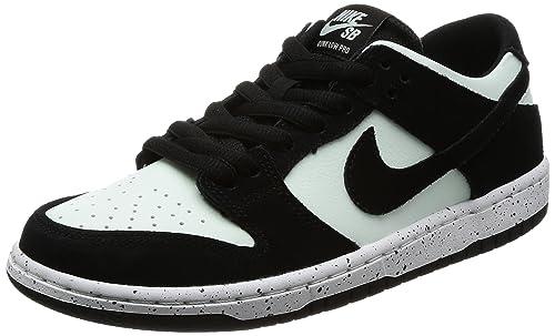 buy online ebd1c 10ca0 Zapatillas Nike SB Zoom Dunk Low Pro Negro   Negro   Barely Green   White,  Hombre 7.5 EE. UU.  Amazon.es  Zapatos y complementos