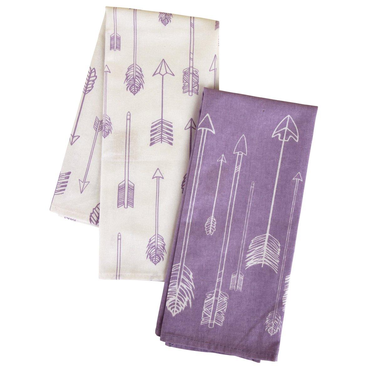 Karma Gifts Tea Towels (Set of 2), Arrows