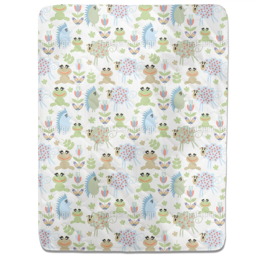 Animals Fitted Sheet: Queen Luxury Microfiber, Soft, Breathable
