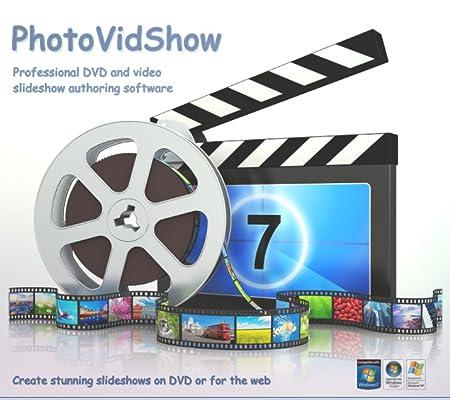 PhotoVidShow v4.5.1 (2018 edition), Photo DVD slideshow maker software (PC) (Windows) [Download]