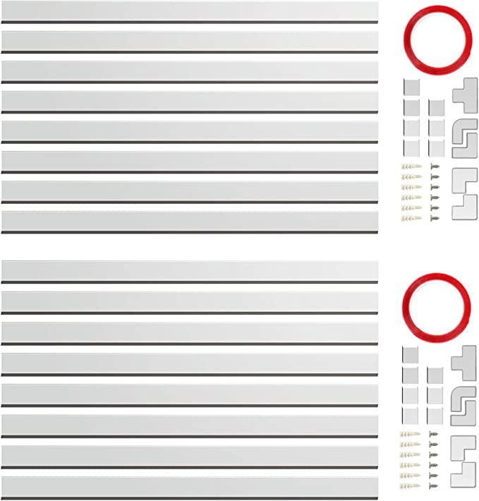 W1.18 H0.6in CMC-02 Concealer Cord Cover Organizing Wall Mount TV System Cable Runner Home Office Cable Management Channel White 16X L15.7in Value 2 Pack 250 Wire Hider Raceway Kit