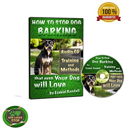 Amazon com : How to Stop Dog Barking Training and Methods Audio Cd