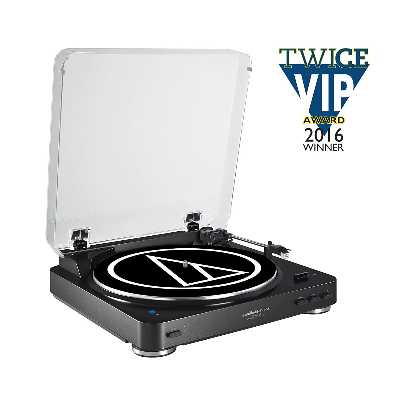 Tocadiscos Audio Technica AT-LP60BTBK Color Negro: Amazon.es ...