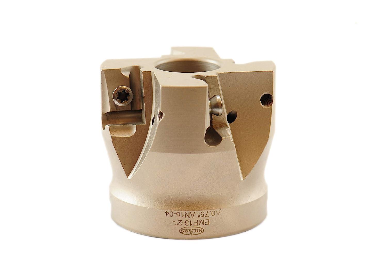 SHARS 2 90 Degree Coolant Thru Indexable Face Mill Coolant Thru ANGX Insert 404-2677 P