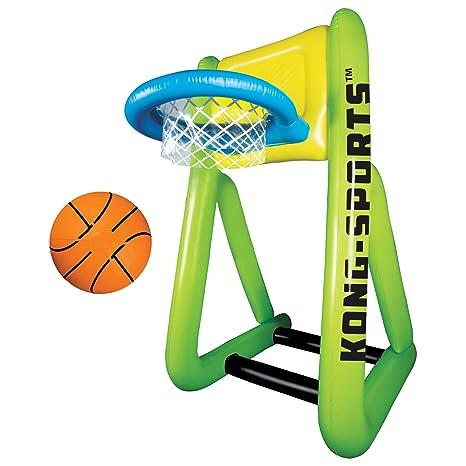 d5581fec74836b Amazon.com  Franklin Sports Kong-Air Giant Inflatable Basketball Set - 6  Feet Tall!  Sports   Outdoors