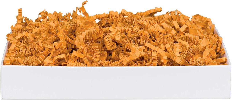 Cognac Dekorieren von Geschenk-Verpackungen Polstern Ausstopfen gelb-oranges F/üllmaterial und Polsterpapier zum F/üllen SizzlePak 148 1 kg Deko