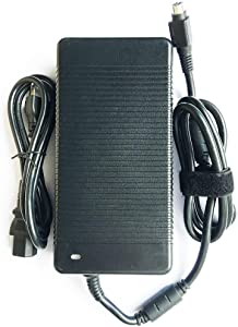 330W 19.5V 16.9A AC Adapter Power Supply Compatible for Alienware X711 P775DM3G MSI GT83VR GT73VR GT80 MSI deltal Desktop Trident 3 Series ADP-330AB D Clevo P370SM-A P775DM3 X7200 (4-Hole Plug)