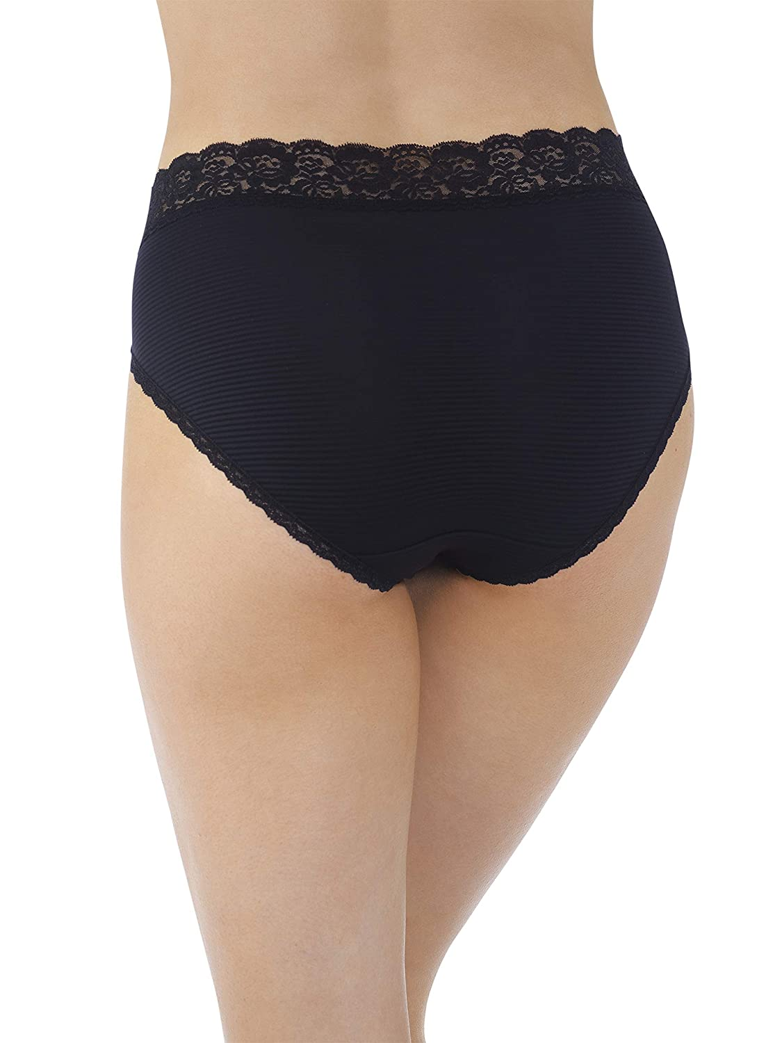 d13aea85c11 Vanity Fair Women s Flattering Lace Hi Cut Panty at Amazon Women s Clothing  store