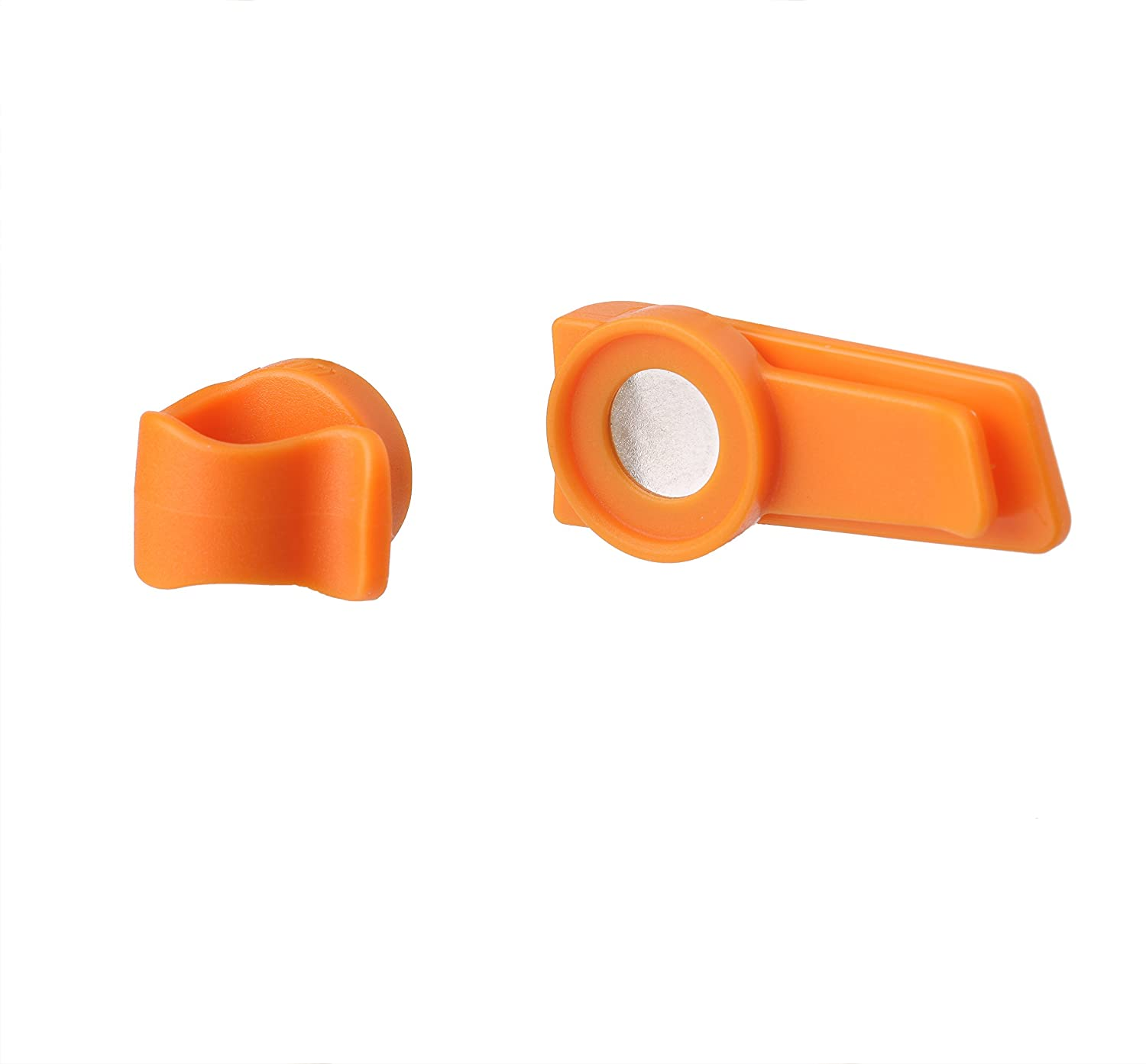 Source Outdoor Magnetic Clip For Hydration System Tube Orange