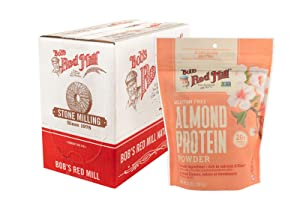 Bob's Red Mill Almond Protein Powder, 14-ounce (Pack of 4)