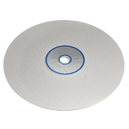 SODIAL(R) 6 Inch Grit 600 Diamond Coated Flat Lap Wheel