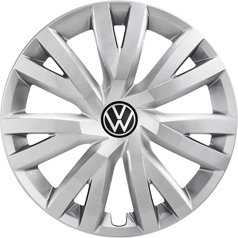 Volkswagen 5h0071456 Yti Radzierkappen Radkappen 16 Zoll Stahlfelge Radzierblenden Silber 4 Stück Auto