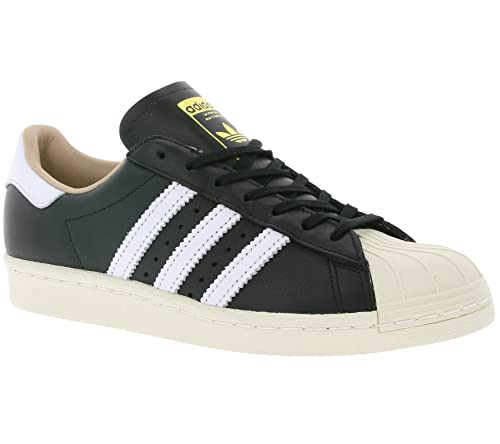 adidas Womens Originals Womens Superstar 80s Trainers in Black-White - UK  4.5