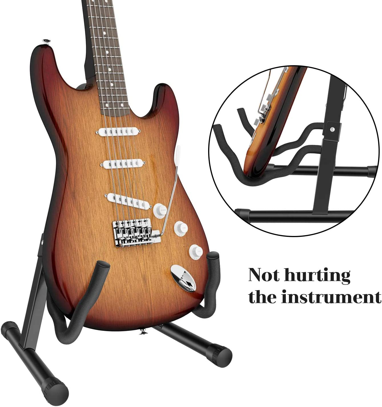 Soporte plegable universal para guitarra, soporte para todo tipo ...