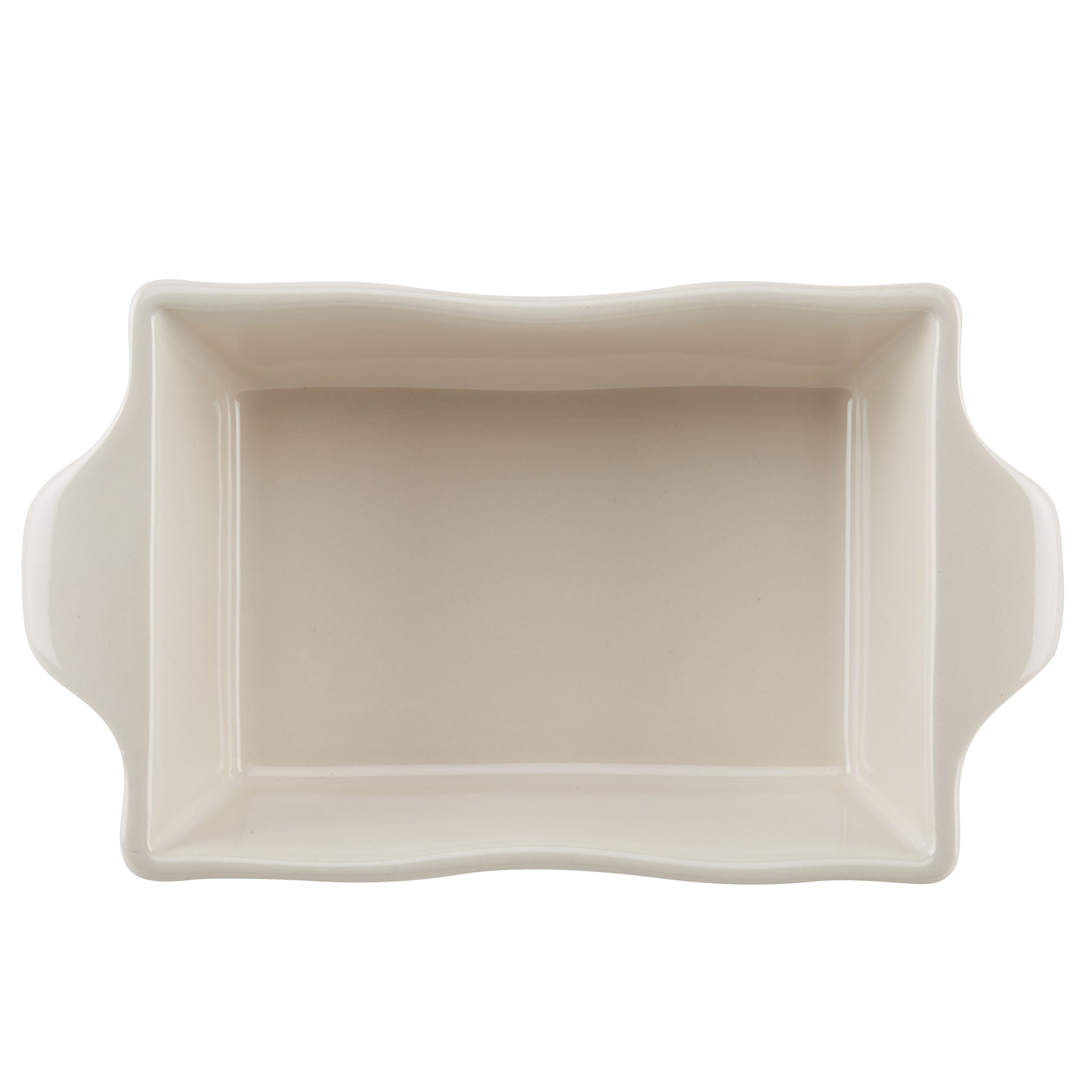 Ayesha Curry Home Collection Stoneware Au Gratin Set, 12-Ounce, Cream, 2-Piece by Ayesha Curry (Image #2)