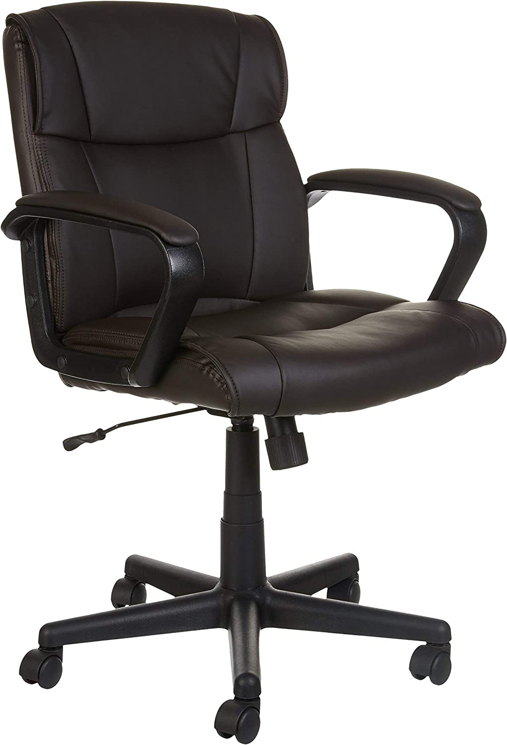 AmazonBasics Ergonomic Mid-Back Swivel Office Chair