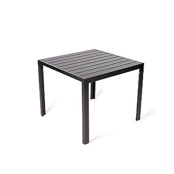 Vanage - Table de Jardin en aluminium - Modèle Helsinki - Avec cadre ...