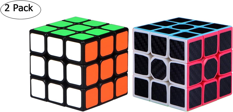 Maomaoyu Cubo Magico de la Velocidad Set, Cubo 3x3 ,Caja de Regalo ...