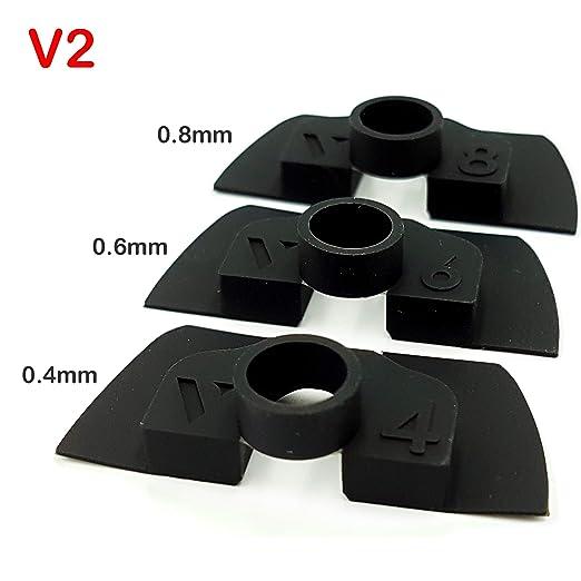 Amortiguador de Goma Flexible V2 Anti Holgura y Vibración Para Xiaomi Mijia M365 / Pro Scooter Eléctrico, Pieza Protección Led, M365 Accesorios, ...