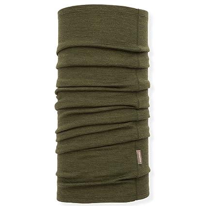 Amazoncom Meriwool Unisex Merino Wool Neck Gaiter Army Green
