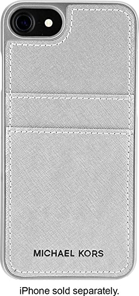 325d41cd83e66a Image Unavailable. Image not available for. Color: Michael Kors Saffiano  Pocket Case for Apple iPhone ...