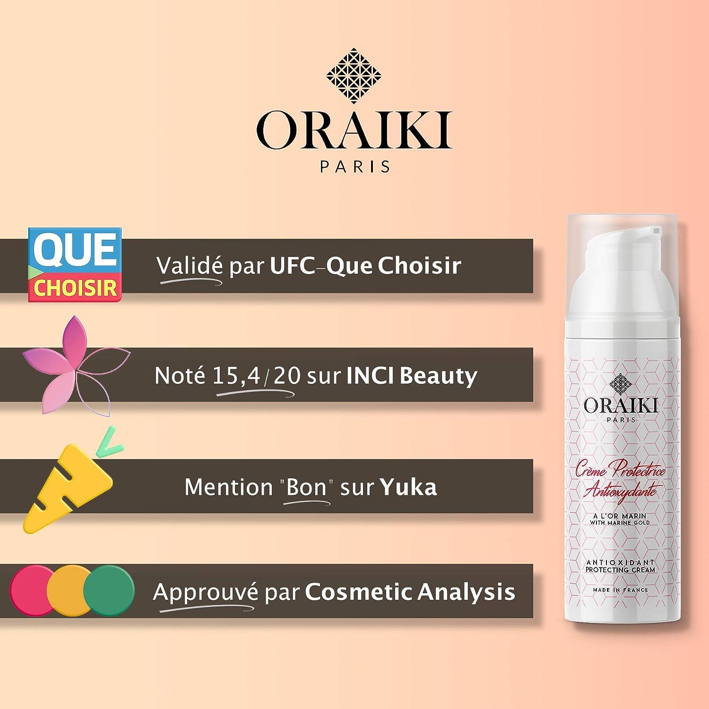 Oraiki Paris - Crema Antiarrugas para mujeres con Oro Marino ...
