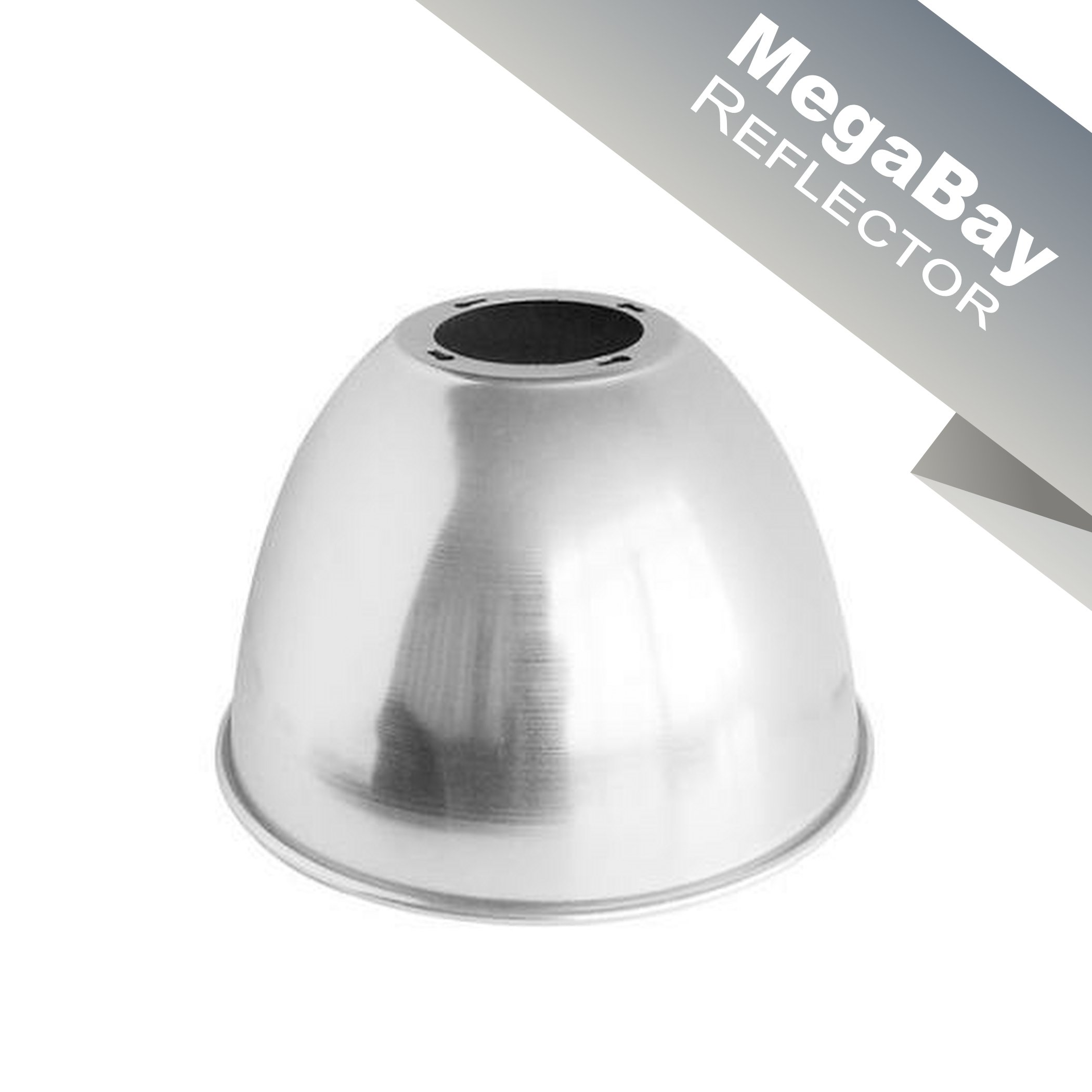 Enpower Megabay Aluminum, High Shine, LED High Bay REFLECTOR (Silver)